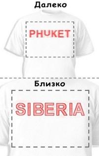 Футболка «Phuket» «Siberia»