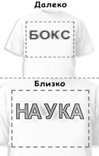 Футболка «Бокс» «Наука»