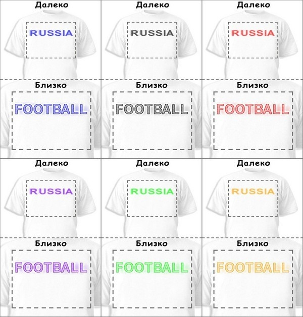 Футболка «Russia» «Football»