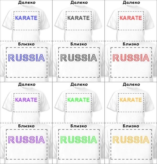 Футболка «Karate» «Russia»