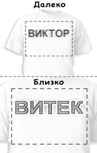 Футболка «Виктор» «Витек»