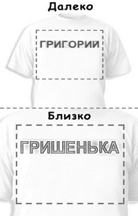 Футболка «Григорий» «Гришенька»