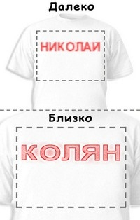 Футболка «Николай» «Колян»