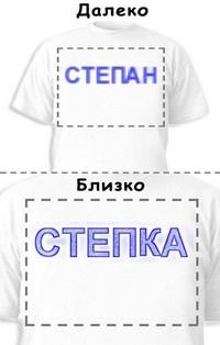 Футболка «Степан» «Степка»