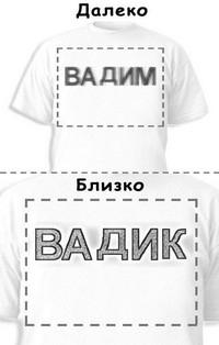 Футболка «Вадим» «Вадик»