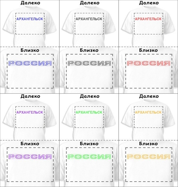 Футболка «Архангельск» «Россия»